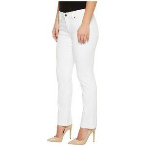 Ralph Lauren Jeans White Modern Curvy Straight Leg
